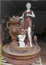 Sculptured Garden Fountain