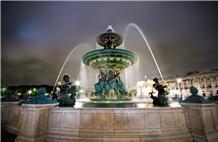 White Marble Plaza Fountain, Big Fountain