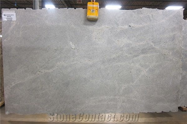 Himalaya White Granite Leather Finish 3 Cm Slabs From
