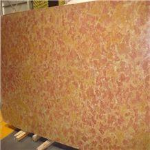 Jazz Yellow Marble Slab, Giallo Reale Rosato Marble