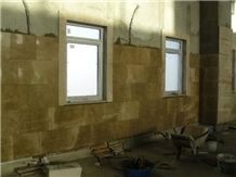 Royal Amber Beige Marble Tiles, Slabs