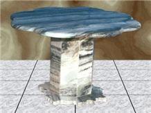 Zacapa Nublado Marble Table