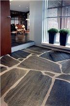 Norway Silver Grey Slate Floor Pavement