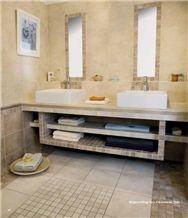 Travertine Bath Design