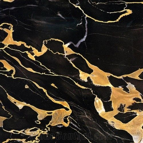 Black Gold Slab Tile Stani Portoro Marble Slabs Tiles