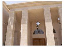 Yatta Yellow Limestone Building, Walling