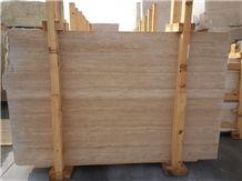 Turkey Beige Travertine Slabs & Tiles, Classic Light Travertine Polished Floor Tiles, Wall Tiles