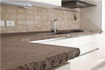 Pietra Serena Di Ascoli Sandstone Kitchen Work Top, Countertop