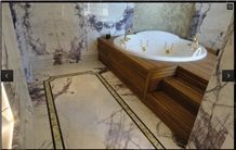 Milas New York Marble Bathroom Design