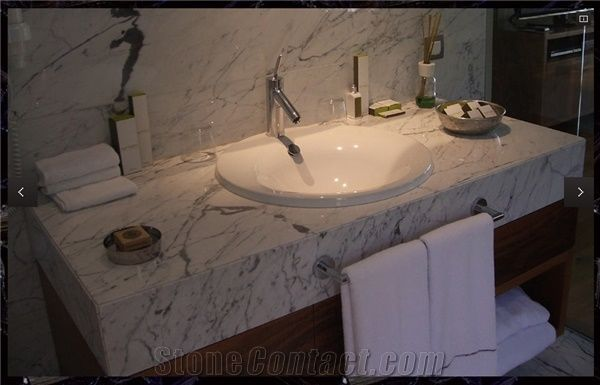Turkey Calacatta Marble Bathroom Vanity Top Stonecontact Com