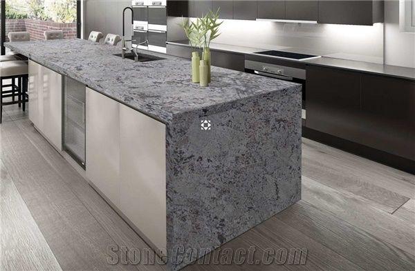 Bianco Antico Granite Kitchen Countertop From Italy