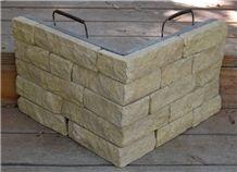 Malibu Inca Limestone Natural Stone Veneer, Beige Limestone Veneers