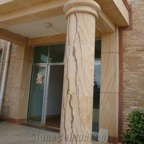 Sandstone Brisbane Column, Building Stones From Australia