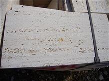 Roman Silver Light Travertine Tiles & Slabs, Beige Travertine Floor Tiles, Wall Tiles