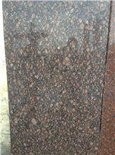 Classic Brown Granite Slabs & Tiles, India Brown Granite