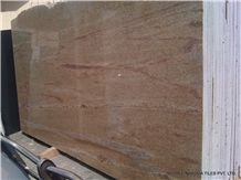 Sahara Gold Granite Slabs & Tiles, India Yellow Granite