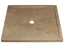 Hampton Travertine Shower Tray