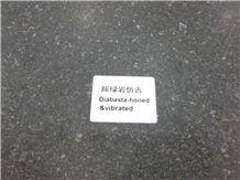 Diabase Stone, Blauwe Natursteen,Black Yimeng Granite Slabs & Tiles