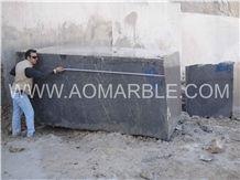 Pietra Grey Marble Blocks, Iran Grey Marble Blocks (Pietra Gray,Pietra Grigio, Graffiti, Grey Marquina, Lashotor) Block