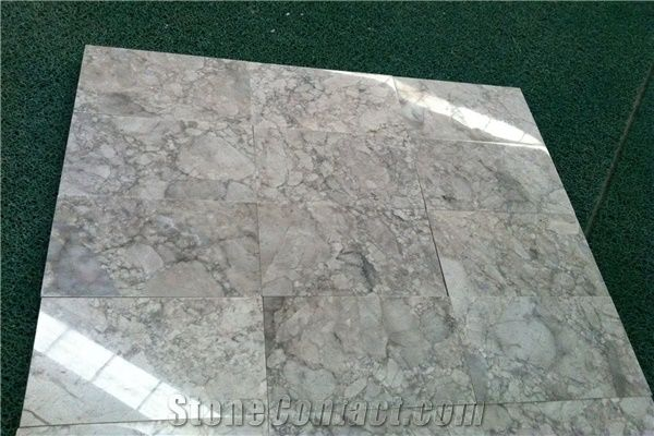 Alpine White Marble Natural Stone Tiles Slabs Marble