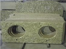 Giallo Ormetal Granite Bathroom Vanity Tops