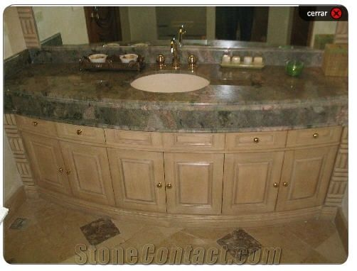 Granite Bathroom Vanity Tops twister green granite bathroom vanity top from mexico