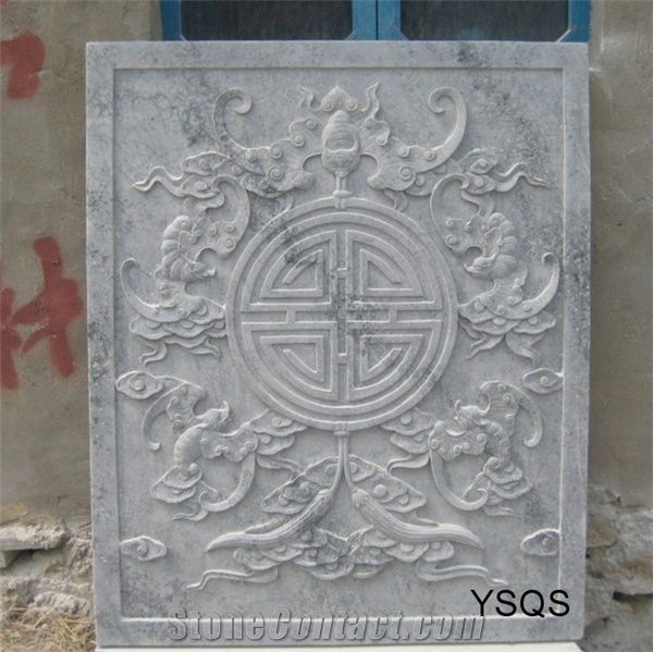Beatiful stone relief carving marble from china