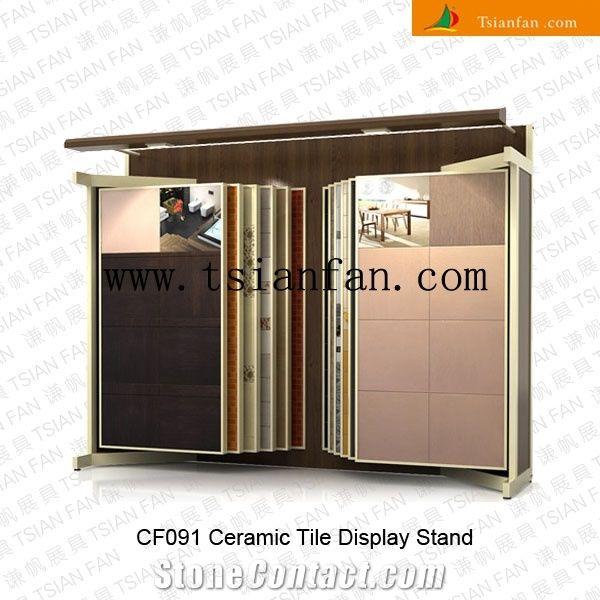 Cf091 Ceramic Tile Display Stands Racks Rack System