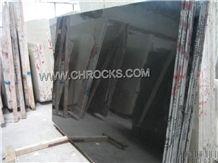 China Black Marble, Pure Black Marble Slabs