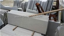 China Shay Grey Marble Stairs/ Stair Treads / Raiser,Guanxi Cinderella Grey Marble Steps / Staircase,Grey Marble Tile and Steps