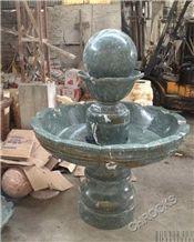 Green Marble Fountain