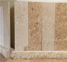 Limestone Burin-Multicolor Slab & Tile, Croatia Limestone Slabs & Tiles, Muliticolor Burin Limestone