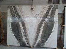 Palissandro White Marble Slabs & Tiles, Turkey White Marble Polished Floor Covering Tiles, Walling Tiles