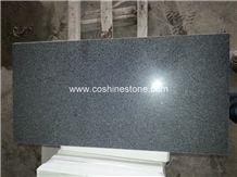 Polished Sesame Black G654 Granite Tile