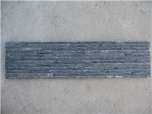 Black Slate for Wall, Floor, Steps Cultured Stone