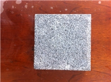 G370b Dark Grey Granite, Flamed Tiles