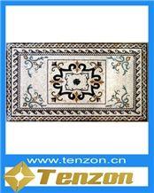 Mosaic, Marble Mosaic Tile, Dynasty Brown Marble Mosaic