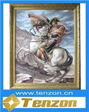 Napoleon Bonaparte Portrait Mosaic Art Design Work