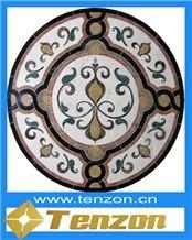 Pressure Water Jet Marble Mosaic Medallions