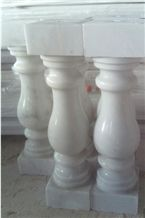 Guangxi White Baluster and Stair Rails