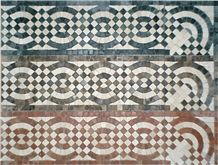 Marble Mosaic Border and Moulding