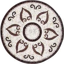 Round-Shape Mosiac Medallion