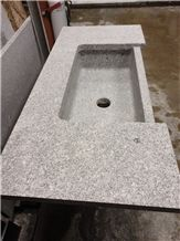 Freshwater Pearl sink and counter