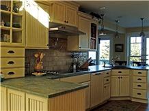 Verde Karzai Granite Kitchen Countertops