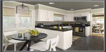 YKD Black Granite Kitchen Countertops