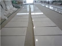 China White Jade Marble Cut-To-Size Floor and Wall Tile