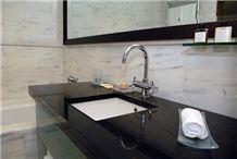 Premium Black Granite Vanity Top
