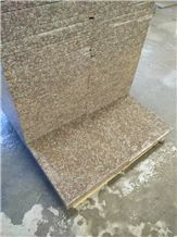 Chinese Peach Blossom Red Granite G687 Tiles, Factory Direct Sale