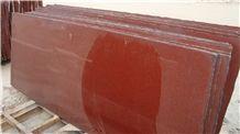 Ruby Red Granite Slabs & Tiles, Fine Red Flower