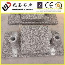 China G439 Granite Slant Monument